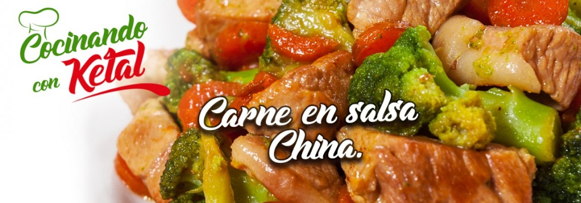 Carne en salsa China