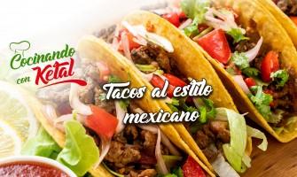 Tacos de res al estilo mexicano