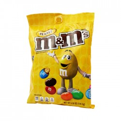 Chocolate M&M Peanut Peg 150.3Gr