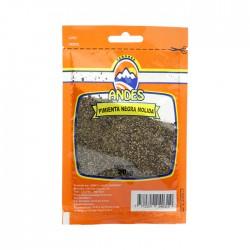 Pimientas Andes Negra Molida 20 Gr