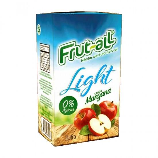 Zumo Frutall Light Manzana 1Lt