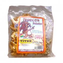 Nueces Titos Peladas 100G