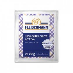 Levadura Fleischmann Sachet 20Gr