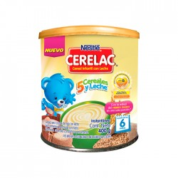 Cereal Cerelac 5 Cereales 400G