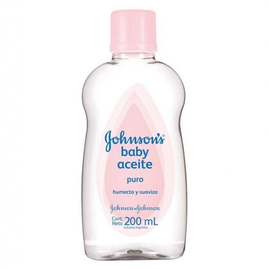 Aceite  Johnson & Johnson 200Ml