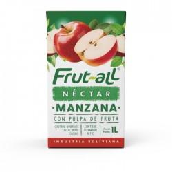 Jugo Frutall Manzana 1Lt