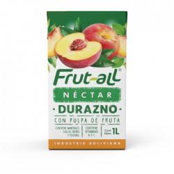 Jugo Frutall Durazno 1Lt