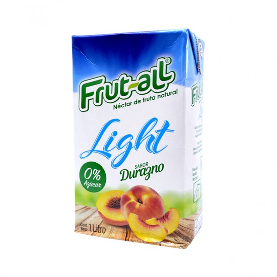 Zumo Frutall Light Durazno 1L