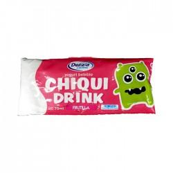 Yoghurt Delizia Chiquidrink Frutilla