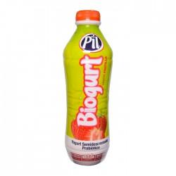 Biogurt Pil Frutilla Botella 1Lt