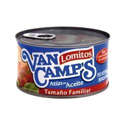 Atun Van Camps Lomitos En Aceite 354Gr