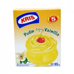 Pudin Kris Vainilla Caja 85Gr