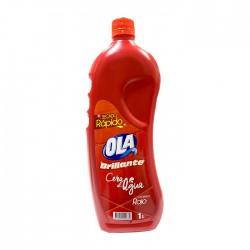 Cera Ola Al Agua Autobrillo Roja 1Lt