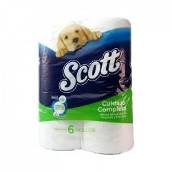 Papel Hig Scott Extra Verde Dh 6Un