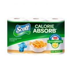 Papel Toa Scott Calorie Absorb 3Un