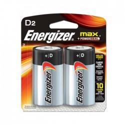 Pilas Energizer  D2 Alcalina