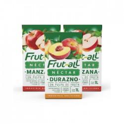 Combo 3 Unidades Jugo Frut-All Varios 1L