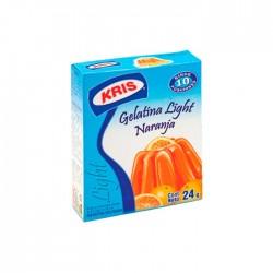 Gelatina Kris Light Naranja 24Gr