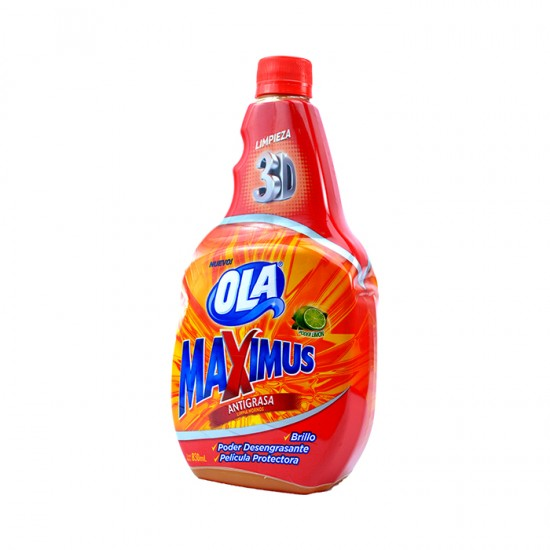 ANTIGRASA OLA MAXIMUS RECARGA 890ML