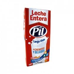 Leche Pil Entera Caja 1Lt