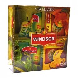 Te Windsor Mix Frutas 40Un