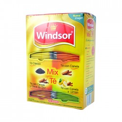 Te Windsor Mix Frutas 100Un