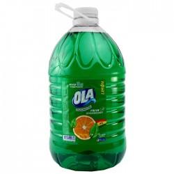 Lavavajilla Ola Verde 5 Litros