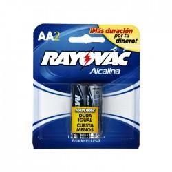 Pilas Alcalinas Rayovac Aax2 Cartela