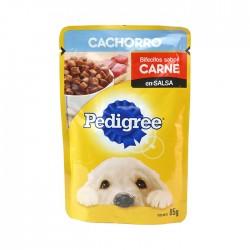 Comida Pedigree Cachorro Carne 85Gr