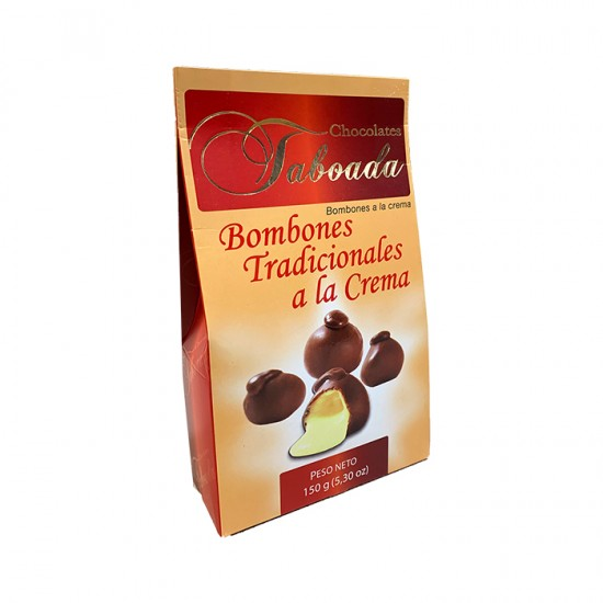 Bombones Taboada A La Crema Bolsa 150 Gr