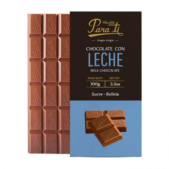 Chocolate Para Ti Tableta C/Leche 100Gr