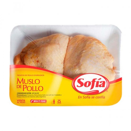 Muslo De Pollo Sofia En Bandeja X Kilo (Aprox. 500gr)