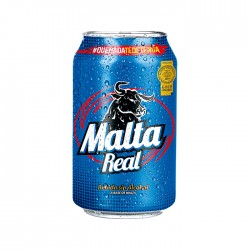 Malta Real Lata 350Ml