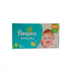Panal Pampers Super Pack S4 G 92Un