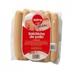 Salchicha Extra Pollo Vacio 6Un