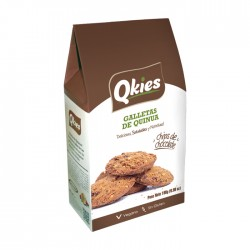 Galletas S/G Qkies Chip Choc 198Gr