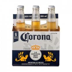 Cerveza Corona Botella 355Ml X 6Un