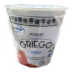 Yogurt Griego Delizia Fresa 170Gr