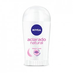 Deo Nivea Aclarado Natural Barra 43Gr