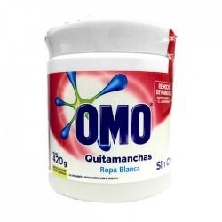 Quitamancha Omo Polvo R Blanca 420Gr