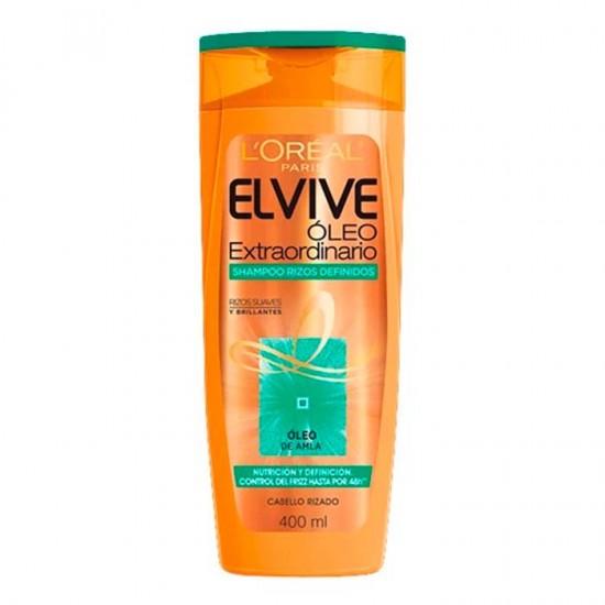 Shampoo Elvive Oleo Rizos Definido 400Ml