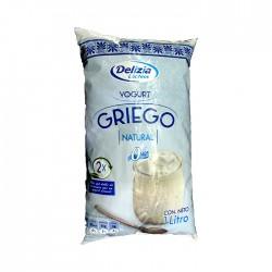 Yogurt Griego Delizia Natural 1Lt