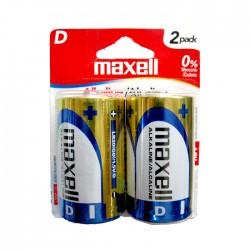 Bateria Maxell Alcalina D 2Un 723020