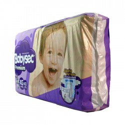 Panal Babysec Premium 40 Unid Xg