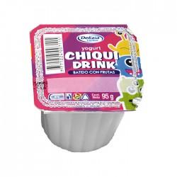 Yogurt Chiquidrink Batido Frutilla 95 Gr