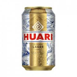 Cerveza Huari Lata 354Ml