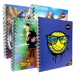 Cuaderno Top Esp Mix 4 Dr-He 1/2 Of 100H