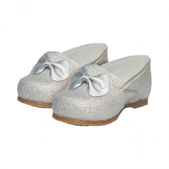 Zapato Pke Kids Bb Plateado T21 Mm102Pl