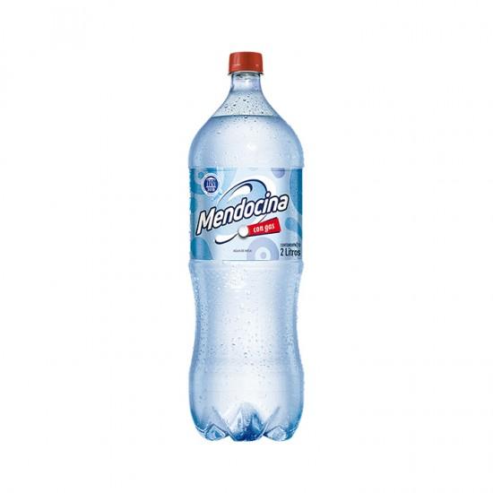 Agua Mendocina Con Gas 2 Lts