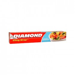 Plastico Diamond D/Envoltura 200Ft